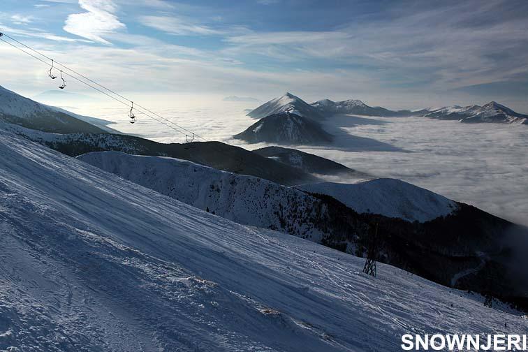 Above clouds, Brezovica