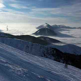 Above clouds, Brezovica