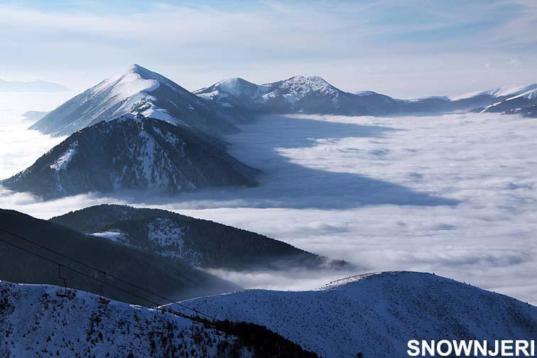 Mountain range islands, Brezovica