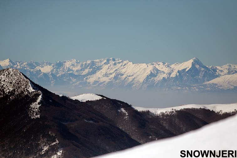 Zoomed view from Brezovica