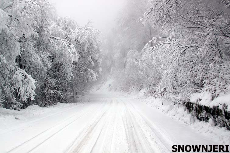 Road to Brezovica
