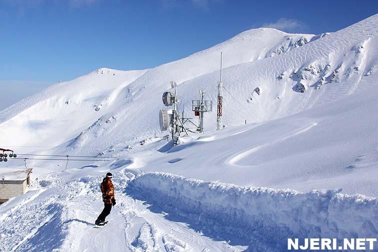 On Brutal snow day, Brezovica