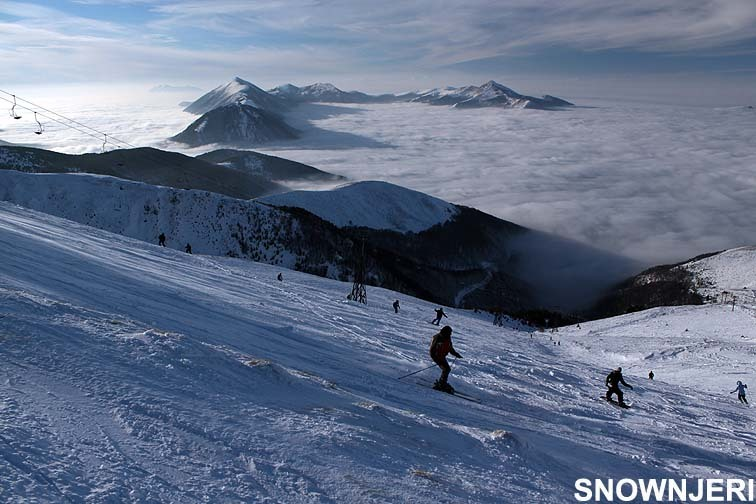 From top lift, Brezovica