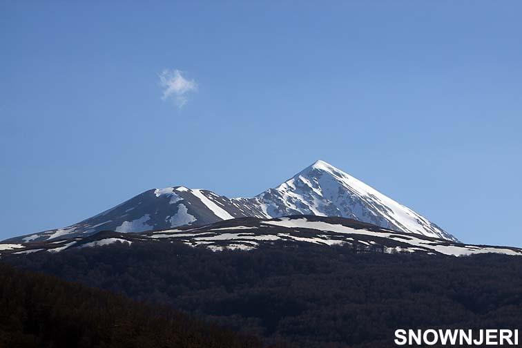 Luboten mountain 2498 m, Brezovica