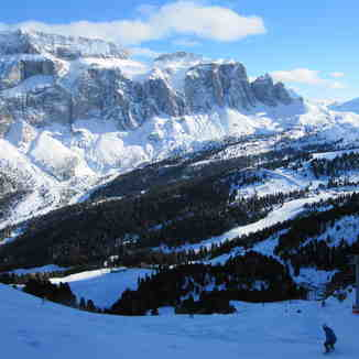 Off the Ciampinoi, Val Gardena