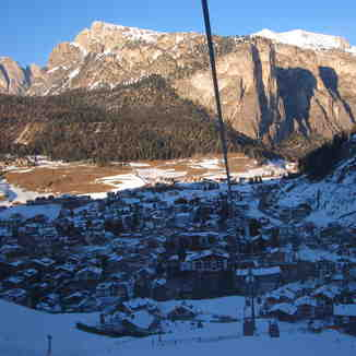 Downloading the Ciampinoi gondola., Val Gardena