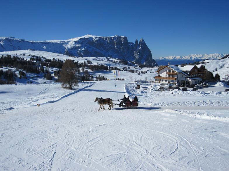 Alpe de Siusi, Val Gardena