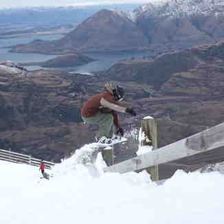 fence hop, Treble Cone