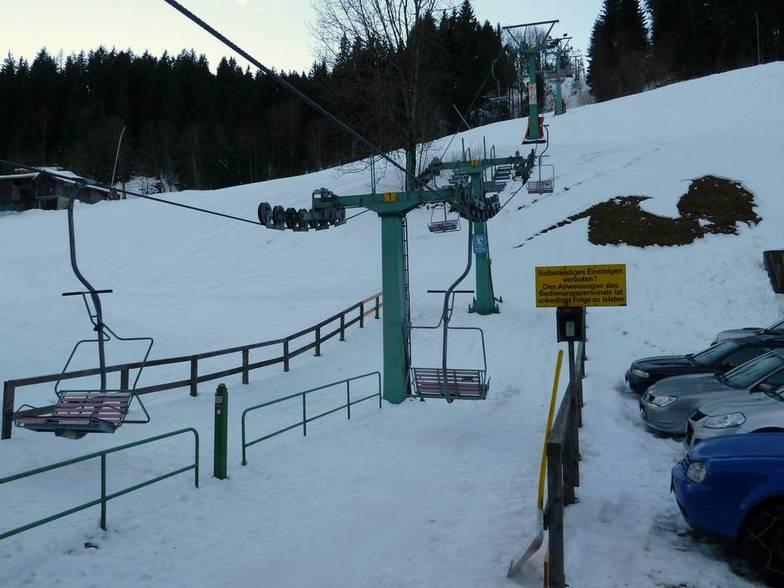 Kelchsau (SkiWelt) snow