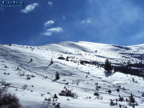 Kopanki - Pelister snow