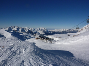 New Years Day Les Deux Alpes 2011 photo