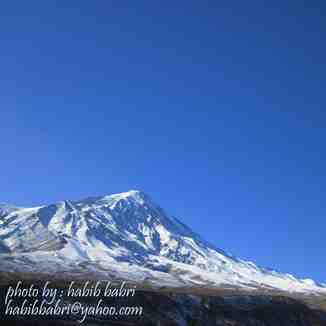 NORTH Damavand 2010 11 26, Mount Damavand