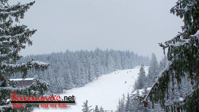 Main ski pistes, Vlašić