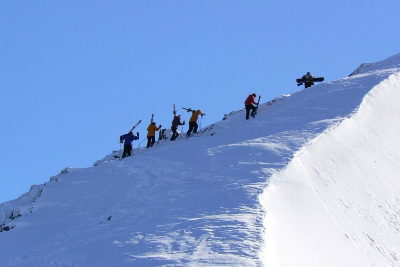 long way up!, Cerro Bayo