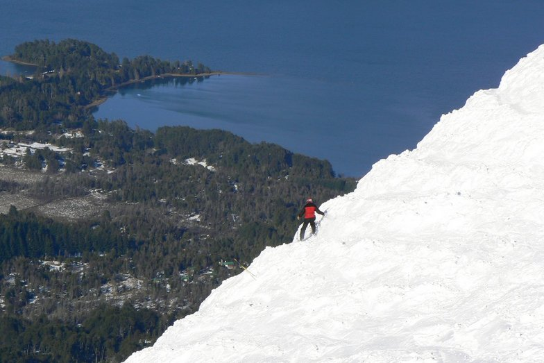 its a long way down!, Cerro Bayo