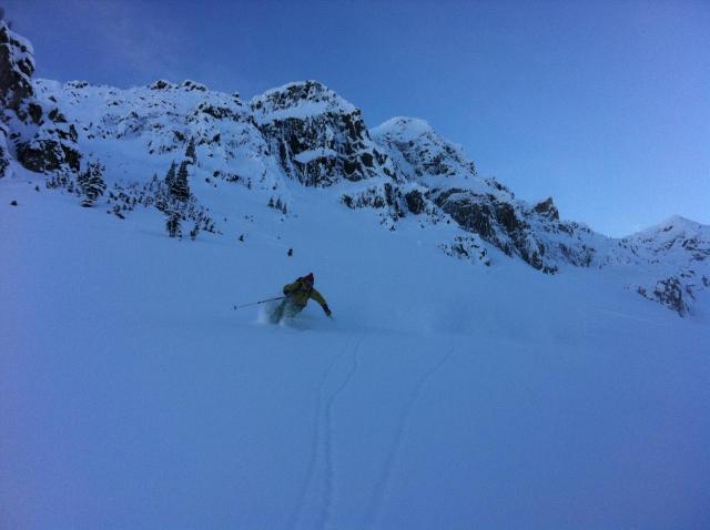 Powder days with Adrenalin Descents, Kicking Horse