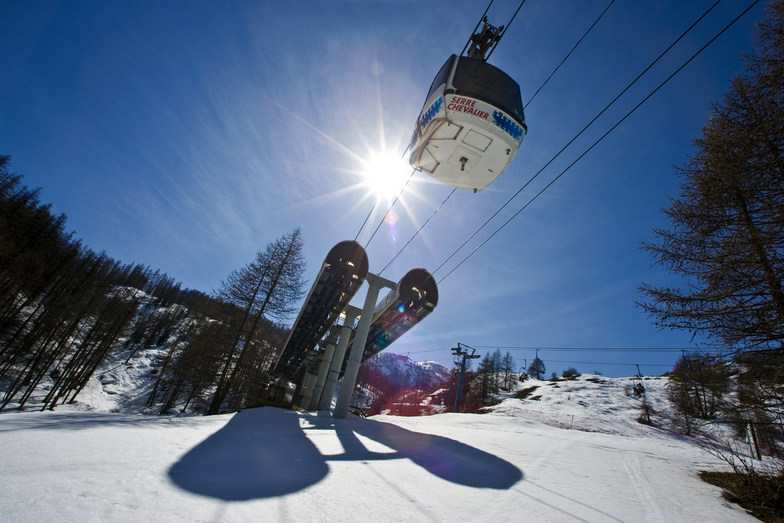 Serre Chevalier snow
