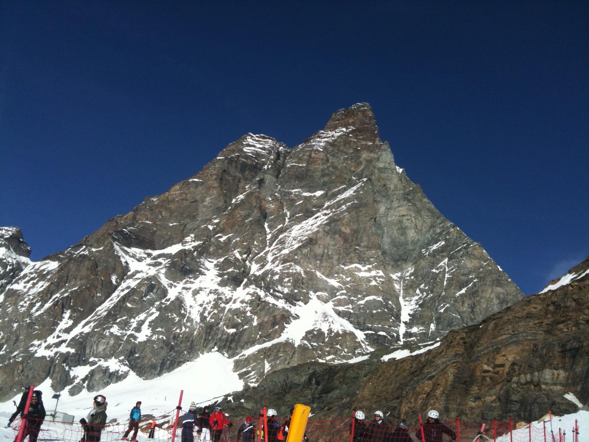 On the way back to Zermatt