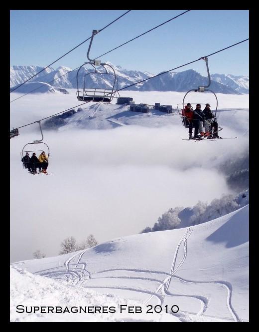 Superbagneres snow