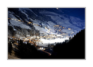 night, Saalbach Hinterglemm photo
