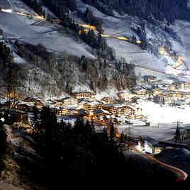 night, Saalbach Hinterglemm