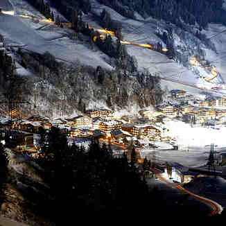 night, Saalbach Hinterglemm