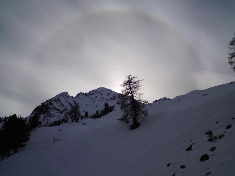 Mont Gond Halo, Nendaz