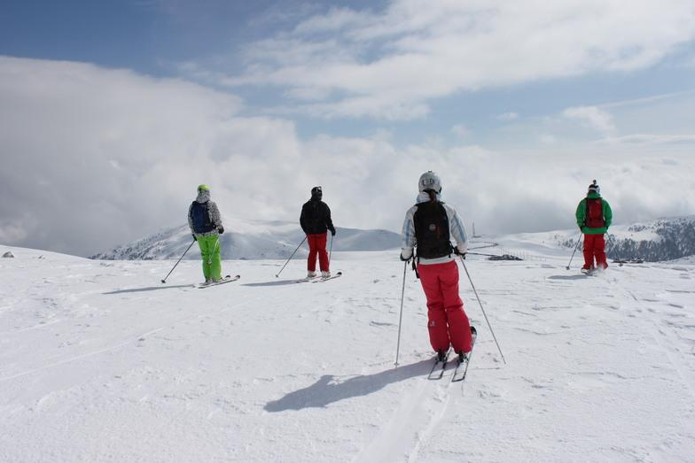 Freeride ski Kaimaki, Mt Voras Kaimaktsalan