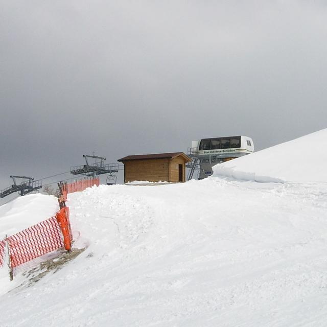 Nevicata 5 aprile 2008 - 1, Ussita Frontignano