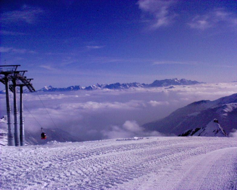 Kaprun Above the Clouds