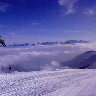 Kaprun Above the Clouds