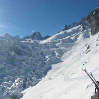Seracs on the Vallee Blanche, Chamonix