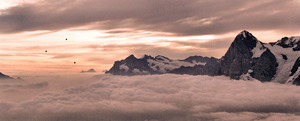 Eiger Sunrise, Mürren photo
