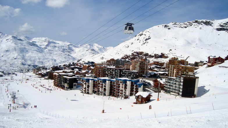 Val Thorens snow