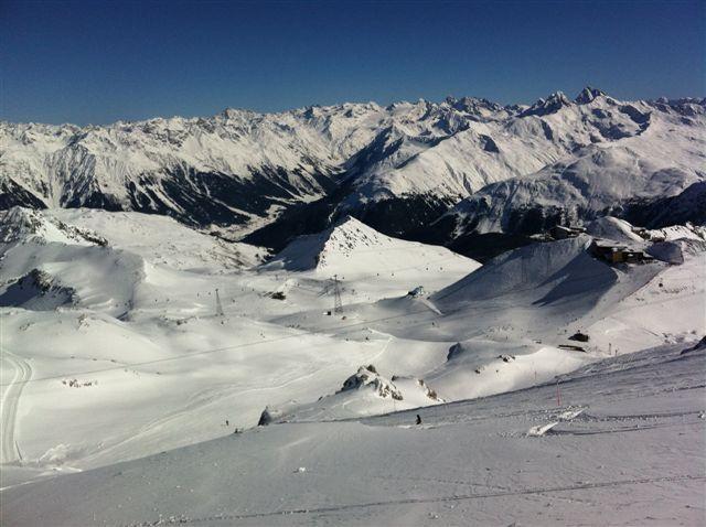Tod alp on Parsenn, Davos