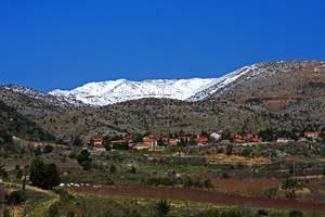 View to Mount Hermon photo