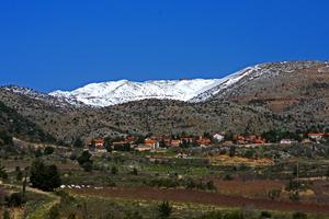 View to Mount Hermon photo