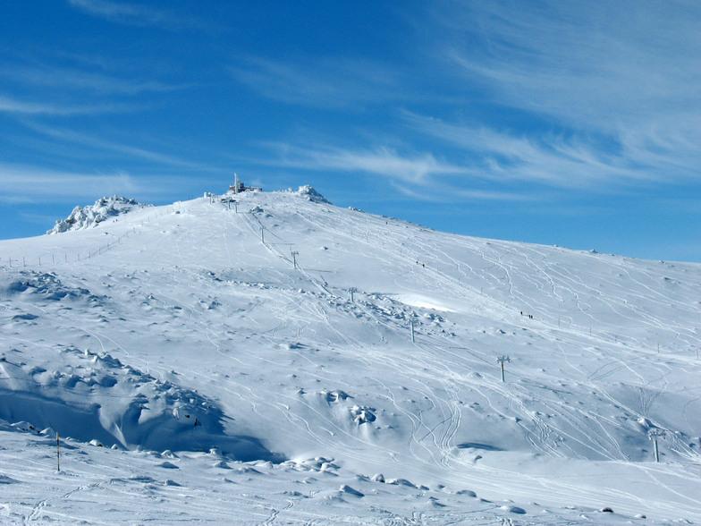 Vitosha snow