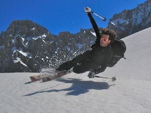 free-heel skiing, Mittenwald/Dammkar photo