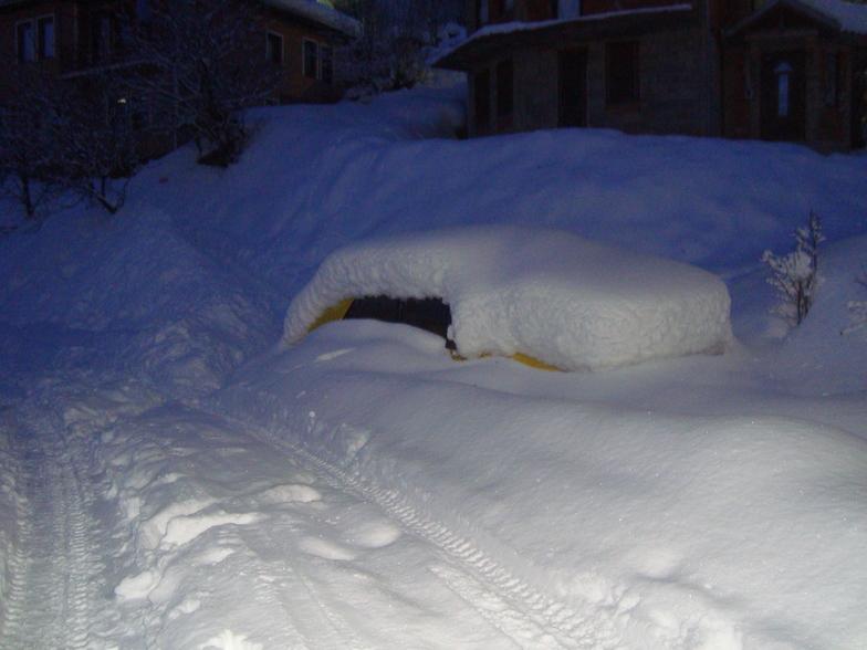 snow car, Krushevo