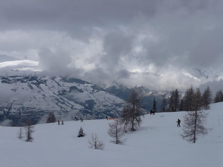 Snow clouds gatherAN, Peisey/Vallandry