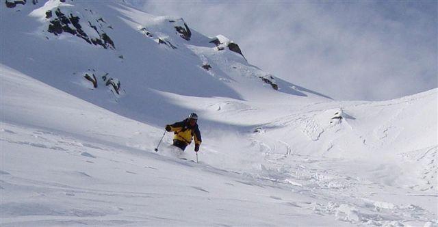 Tony in Sentishorn Powder, Davos