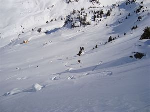 Almost down to the Fluela Strasse, Davos photo