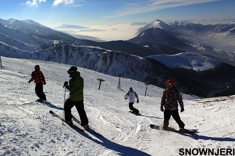 With the bunch, Brezovica