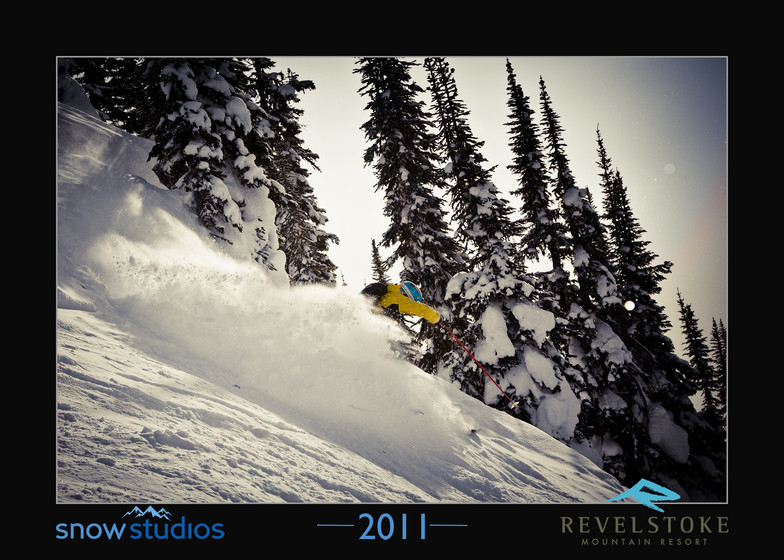 Revelstoke snow cloud, Revelstoke Mountain Resort
