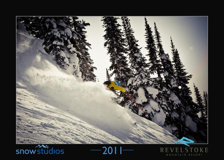 Revelstoke Mountain Resort snow