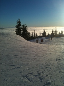 Half way up, Trysil photo