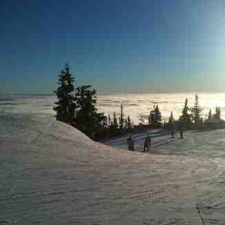 Half way up, Trysil