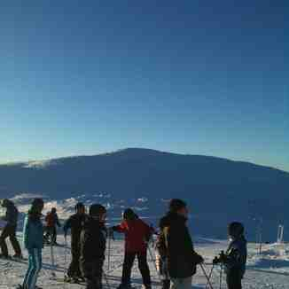Not quite at the top, Trysil