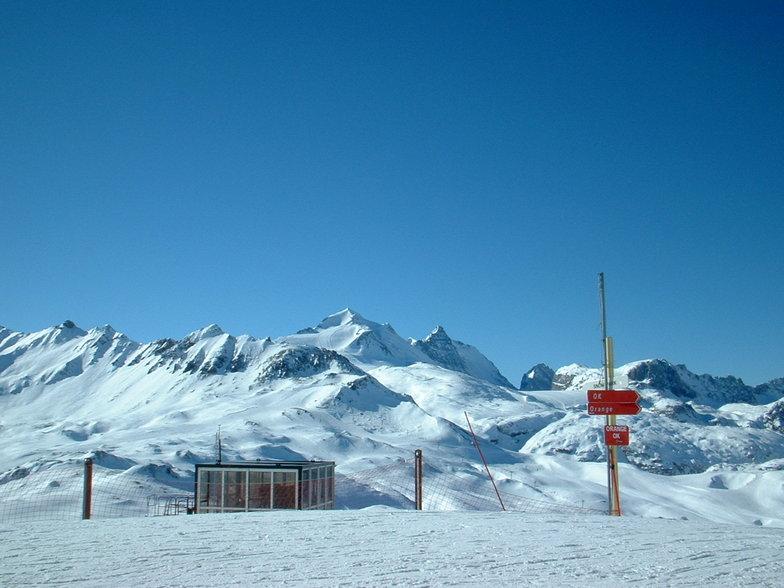 View of the Grande Motte, Tignes